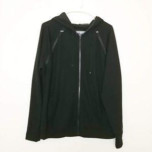 Victoria's Secret Zip-Up Hoodie Sweatshirt M #3975